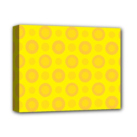 Cheese Background Deluxe Canvas 14  X 11  by berwies