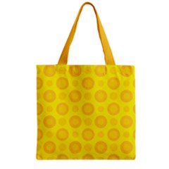 Cheese Background Grocery Tote Bag by berwies