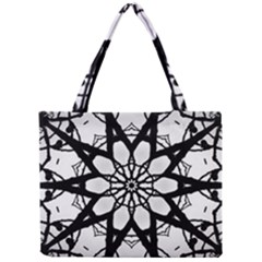Pattern Abstract Fractal Mini Tote Bag by Nexatart