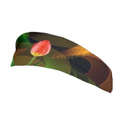 Tulip Flower Background Nebulous Stretchable Headband