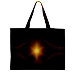 Background Christmas Star Advent Medium Tote Bag by Nexatart
