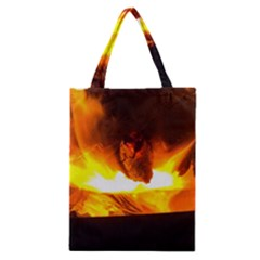 Fire Rays Mystical Burn Atmosphere Classic Tote Bag