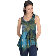 Background Forest Trees Nature Sleeveless Tunic