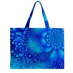 Bokeh Background Light Reflections Zipper Mini Tote Bag by Nexatart