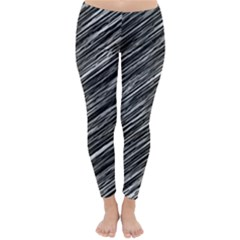Background Structure Pattern Classic Winter Leggings