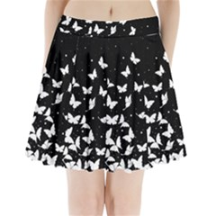Butterfly Pattern Pleated Mini Skirt by Valentinaart