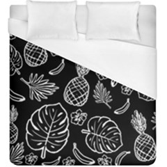 Tropical Pattern Duvet Cover (king Size) by Valentinaart