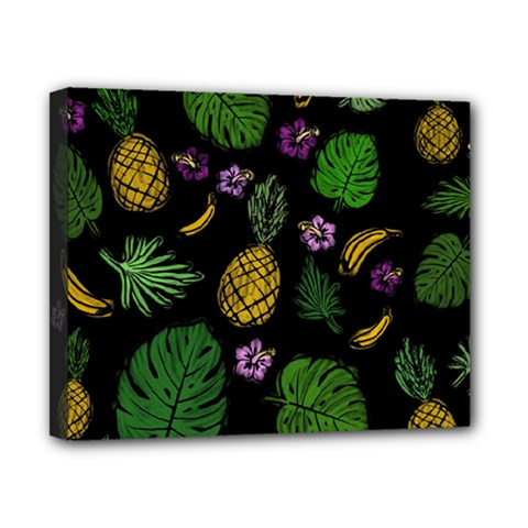 Tropical Pattern Canvas 10  X 8  by Valentinaart