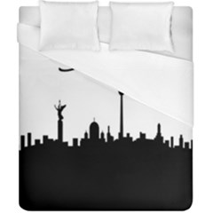 Berlin Duvet Cover (california King Size) by Valentinaart