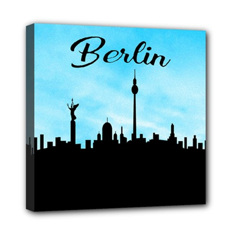 Berlin Mini Canvas 8  X 8