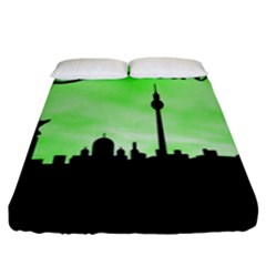 Berlin Fitted Sheet (king Size)