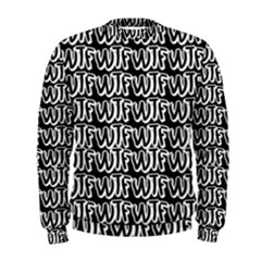 Wtf Men s Sweatshirt by Valentinaart