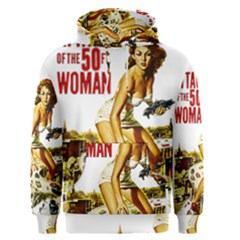 Attack Of The 50 Ft Woman Men s Pullover Hoodie by Valentinaart