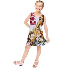 Attack Of The 50 Ft Woman Kids  Tunic Dress by Valentinaart