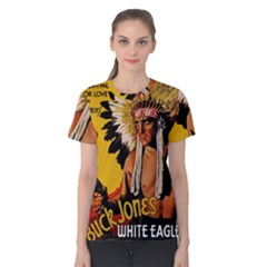 White Eagle Women s Cotton Tee by Valentinaart