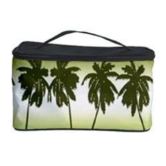 Tropical Sunset Cosmetic Storage Case by Valentinaart