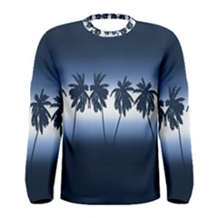 Tropical Sunset Men s Long Sleeve Tee