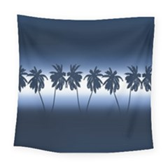 Tropical Sunset Square Tapestry (large)