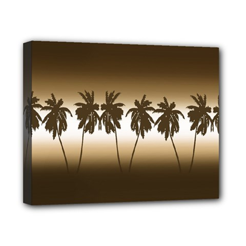 Tropical Sunset Canvas 10  X 8  by Valentinaart