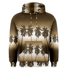 Tropical Sunset Men s Pullover Hoodie
