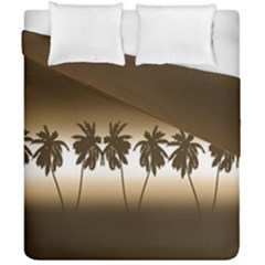 Tropical Sunset Duvet Cover Double Side (california King Size)