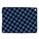 HOUNDSTOOTH2 BLACK MARBLE & BLUE COLORED PENCIL Apple iPad Air 2 Hardshell Case View1