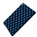 HOUNDSTOOTH2 BLACK MARBLE & BLUE COLORED PENCIL Apple iPad Air 2 Hardshell Case View4
