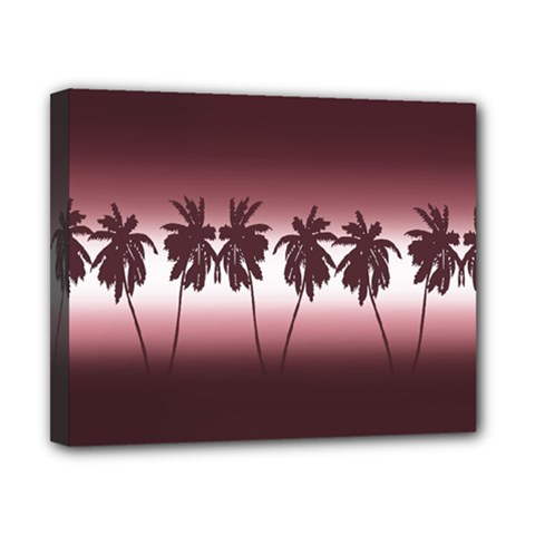 Tropical Sunset Canvas 10  X 8