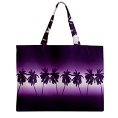 Tropical Sunset Zipper Mini Tote Bag by Valentinaart