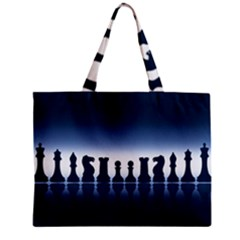 Chess Pieces Mini Tote Bag by Valentinaart