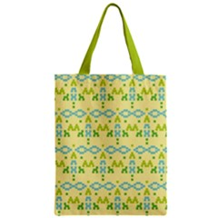 Simple Tribal Pattern Classic Tote Bag by berwies