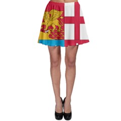 Coat Of Arms Of The Italian Navy  Skater Skirt by abbeyz71