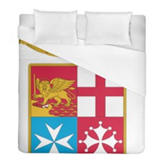 Coat Of Arms Of The Italian Navy  Duvet Cover (full/ Double Size) by abbeyz71