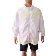 Watercolor Floral Wind Breaker (kids)