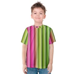 Vertical Blinds A Completely Seamless Tile Able Background Kids  Cotton Tee