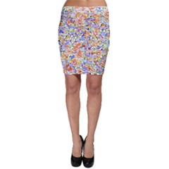 Lovely Floral 31d Bodycon Skirt by MoreColorsinLife