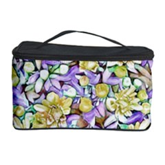 Lovely Floral 31e Cosmetic Storage Case by MoreColorsinLife