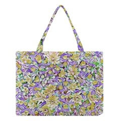 Lovely Floral 31e Medium Tote Bag by MoreColorsinLife