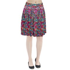 Lovely Floral 31a Pleated Skirt by MoreColorsinLife