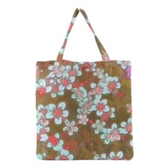 Lovely Floral 29 A Grocery Tote Bag by MoreColorsinLife