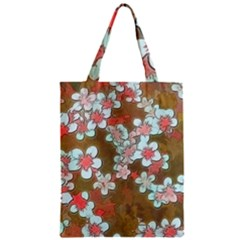 Lovely Floral 29 A Zipper Classic Tote Bag by MoreColorsinLife