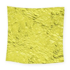 Thick Wet Paint F Square Tapestry (large)