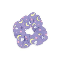 Rabbit Of The Moon Velvet Scrunchie