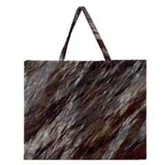 Wet Stone 11 Zipper Large Tote Bag by MoreColorsinLife