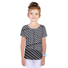 Abstract Architecture Pattern Kids  One Piece Tee