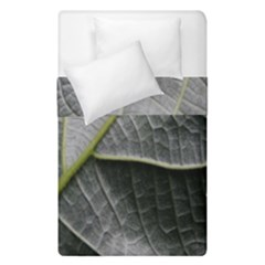 Leaf Detail Macro Of A Leaf Duvet Cover Double Side (single Size) by Nexatart