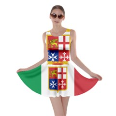 Naval Ensign Of Italy Skater Dress by abbeyz71