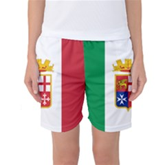 Naval Ensign Of Italy Women s Basketball Shorts by abbeyz71