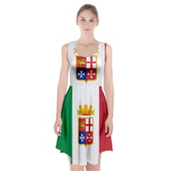 Naval Ensign Of Italy Racerback Midi Dress by abbeyz71