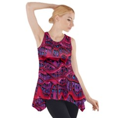 Plastic Mattress Background Side Drop Tank Tunic